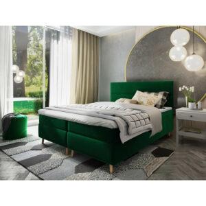 Čalouněná postel boxspring Santa