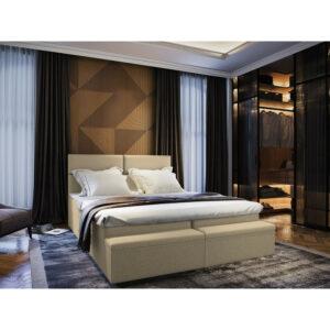 Čalouněná postel Melfi